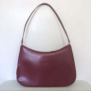 Vintage Kate Spade Burgundy Shoulder Bag
